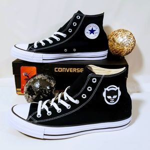 Converse Shoes - Converse Allstars Napster Patch Hi-top sneakers🖤